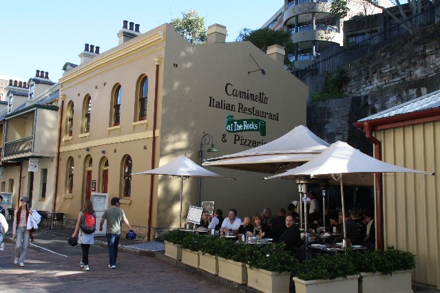 Caminetto Italian Restaurant The Rocks Sydney