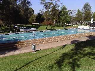 Guildford Outdoor swimming pool