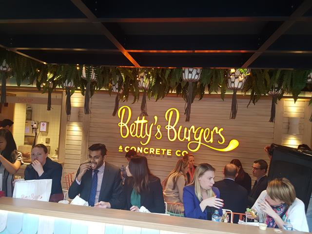Betty's Burgers Darling Harbour