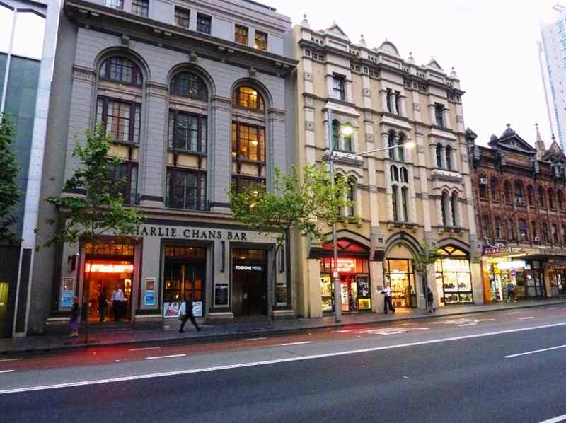 Pensione Hotel close to Sydney Chinatown