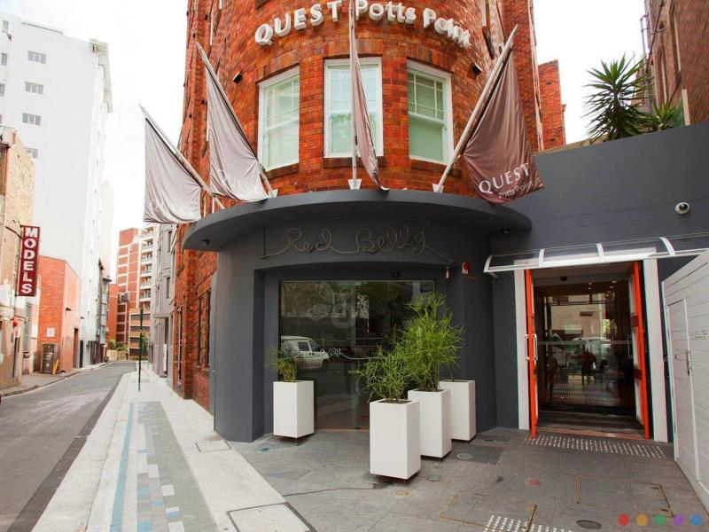 Quest Potts Point Hotel Kings Cross Sydney