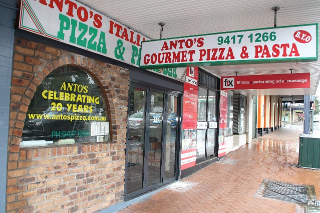 Anto's Gourmet Pizza and Pasta Restaurant Willoughby Sydney