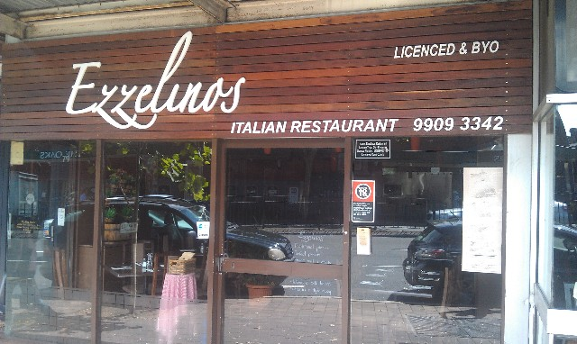 Ezzelino's Italian Restaurant Neutral Bay