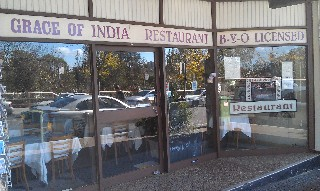 Grace of India Restaurant Milsons Point Sydney