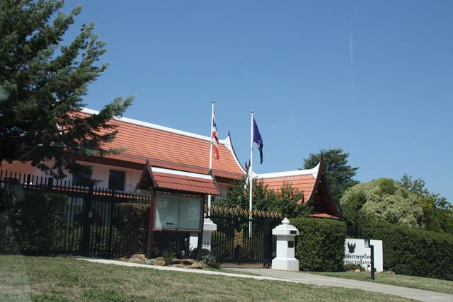Thai Embassy Canberra