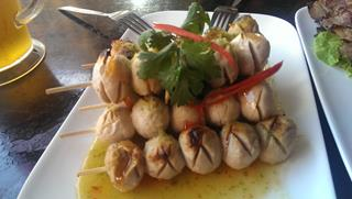 Chicken balls Thai Town Sydney