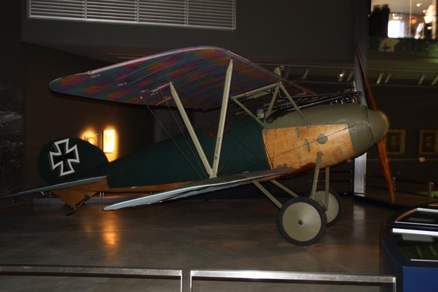German airplane from WWI