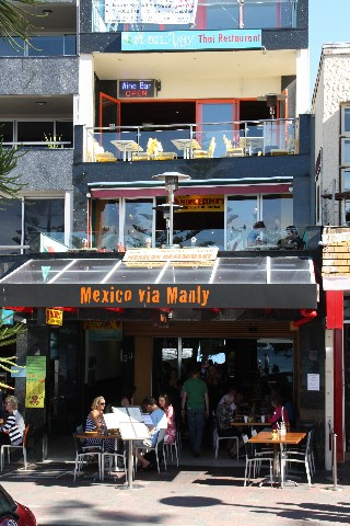 Mexico via Manly Restaurant