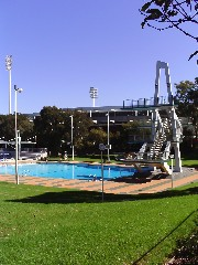 Parramatta pool diving tower