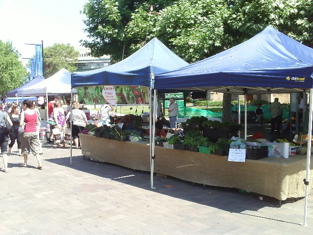 Parramatta Farmers Markets every Saturday