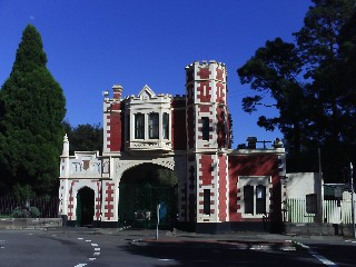 Parramatta Park entrance Tudor Gatehouse