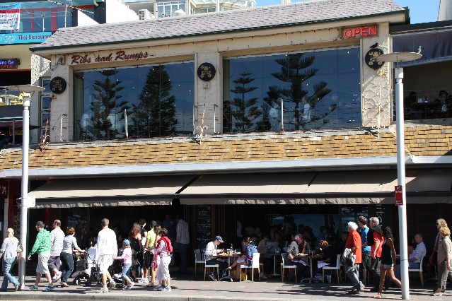 Ribs and Rumps Grill Restaurant Manly Beach Sydney