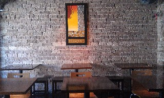 Thai Fusion Restaurant dining area Kirribilli