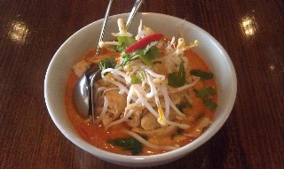 Chicken laksa at Thai Fusion Restaurant